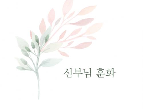 [훈화]  미사(1) 미사란 무엇인가?